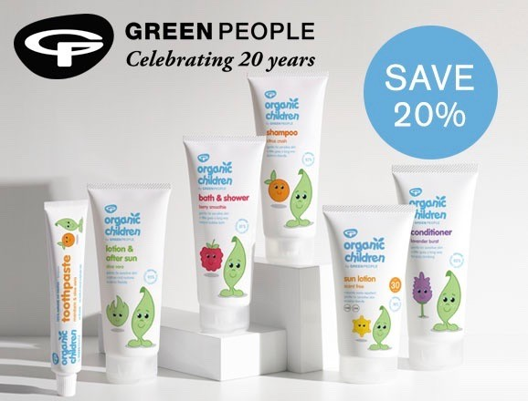 Green People 20% off