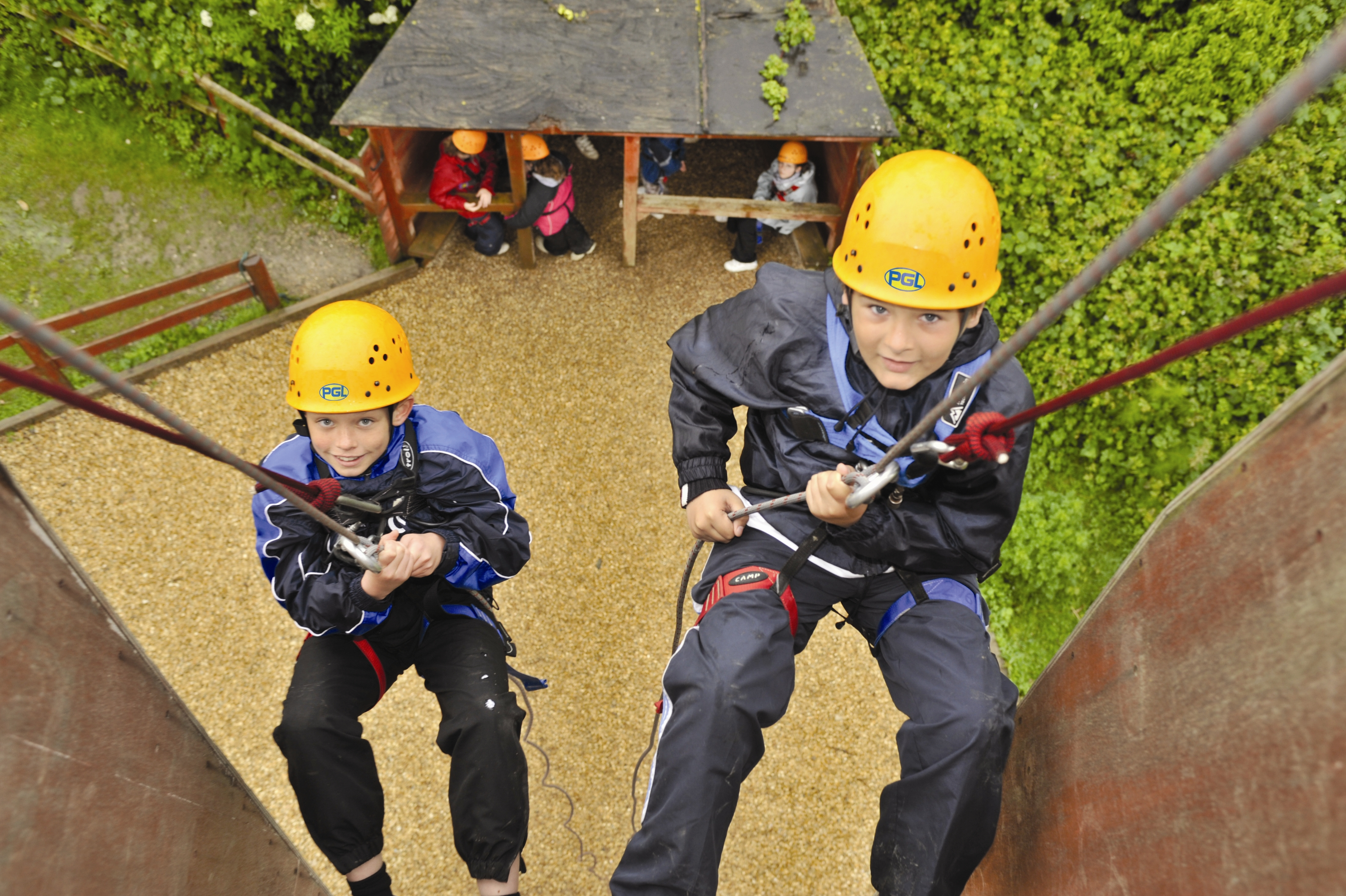 PGL abseiling