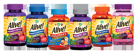 Alive! supplement range