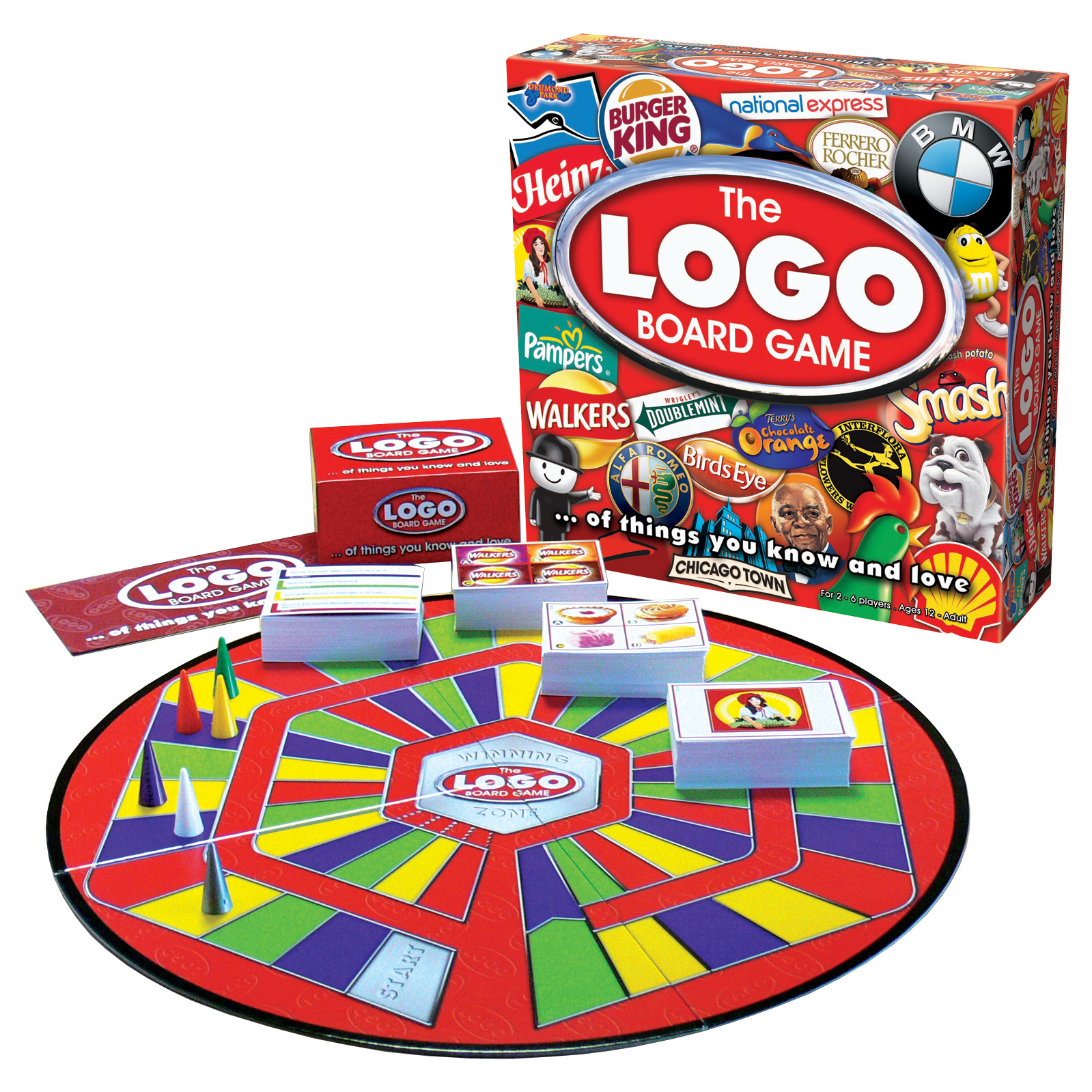 LOGO family board game