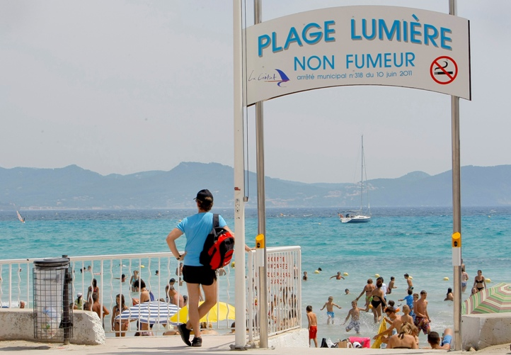 La Ciotat non-smoking beach
