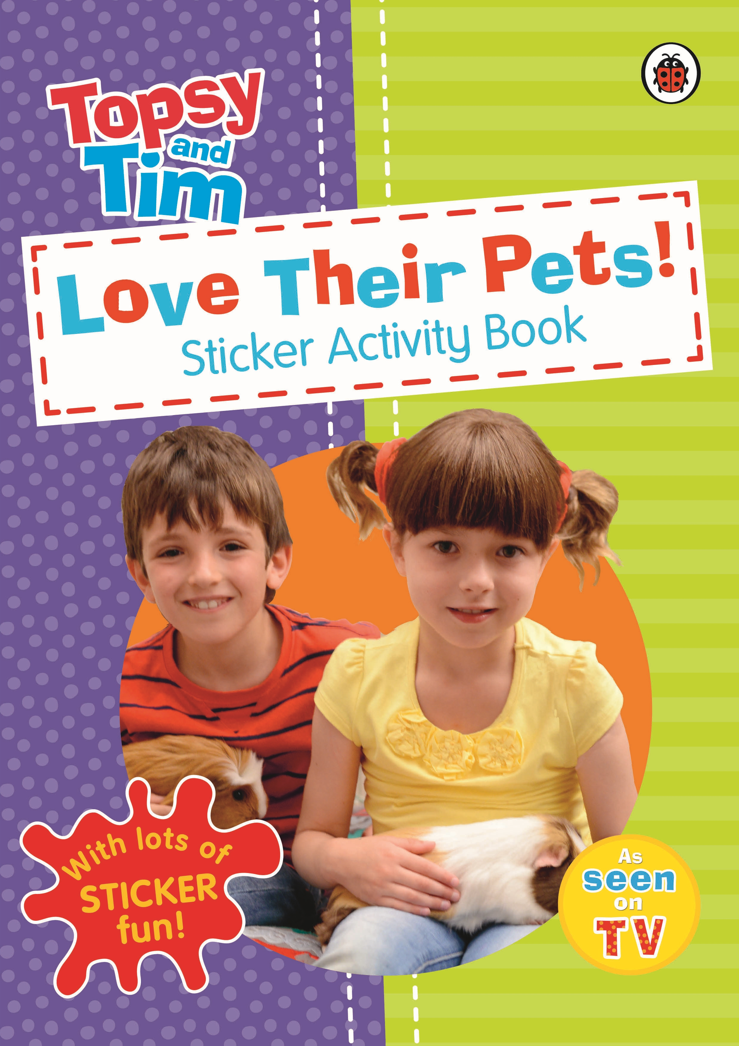 Topsy and Tim Love their pats!