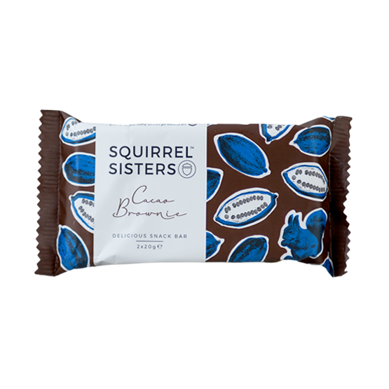 Squirrel Sisters Cacao Brownie