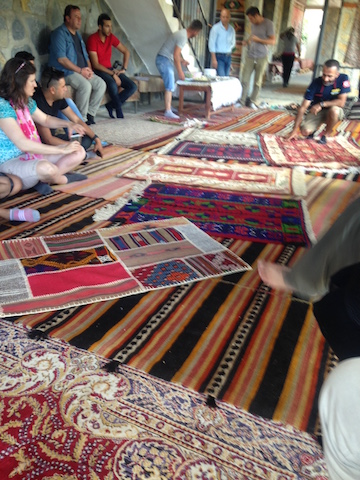 carpets, safari, Bodrum, Turkey