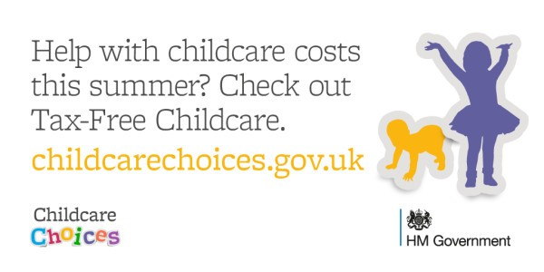 HMRC Summer tax-free childcare