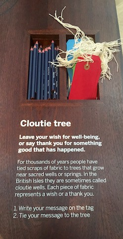 Cloutie Tree, World gallery, Horniman Museum