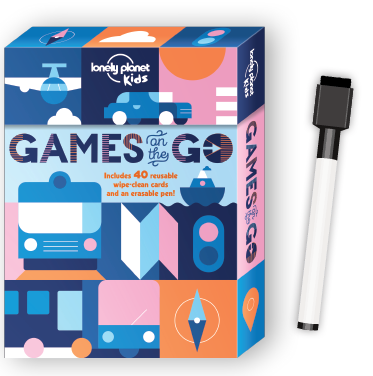 Games on the Go from Lonely Planet Kids
