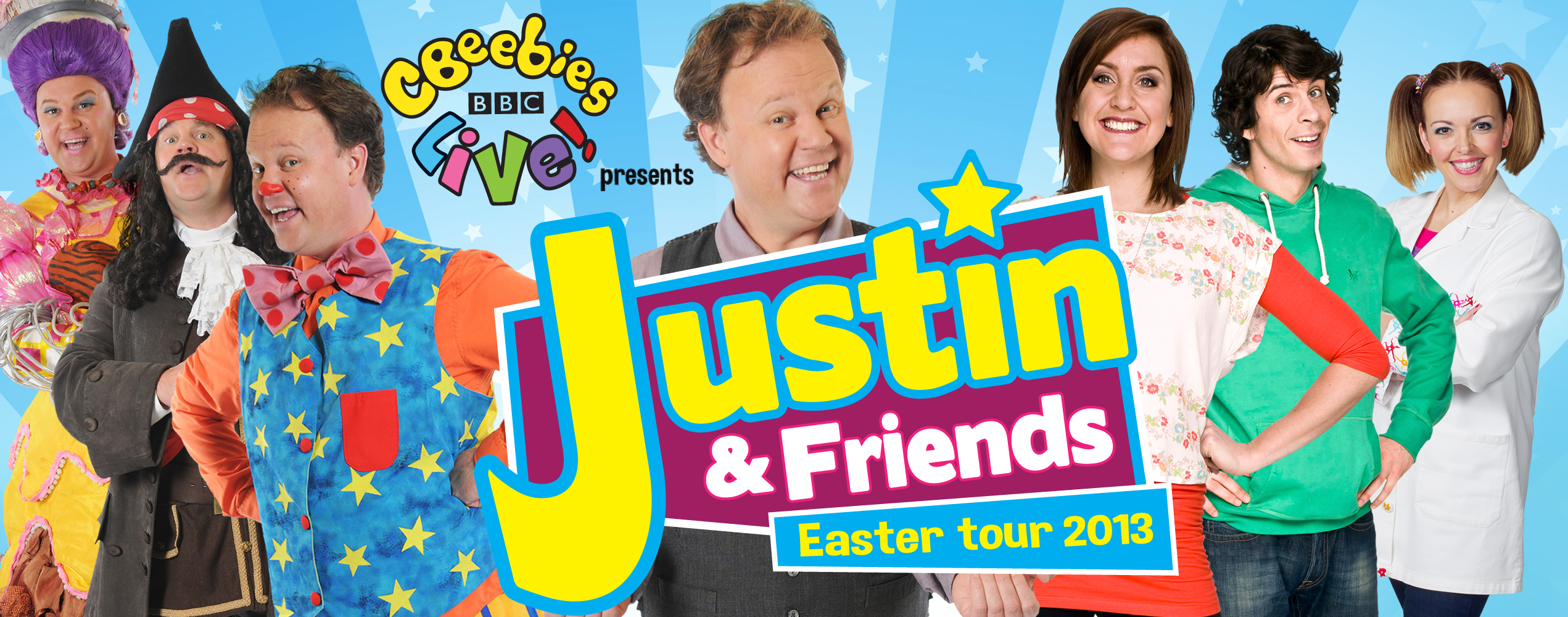 Justin & Friends Easter Tour dates
