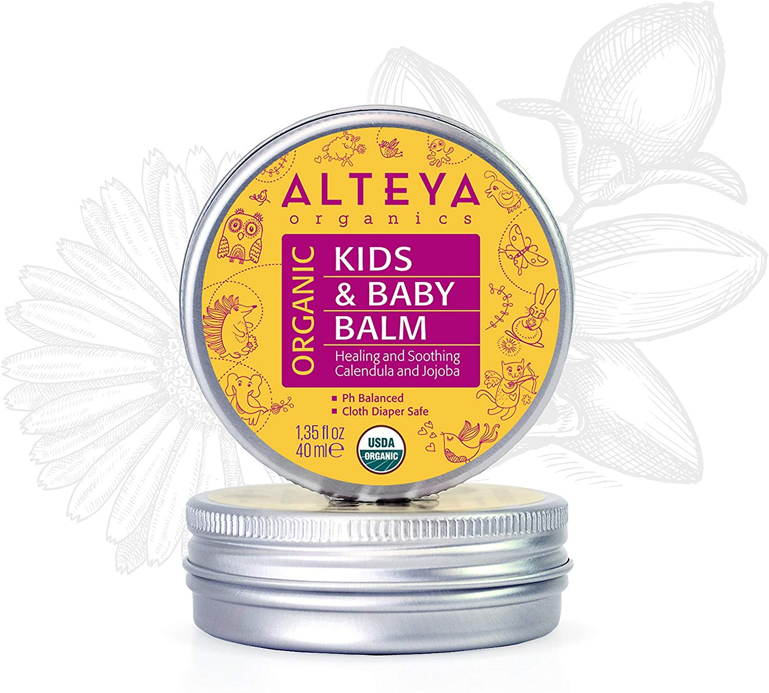 Alteya Kids and Baby Balm