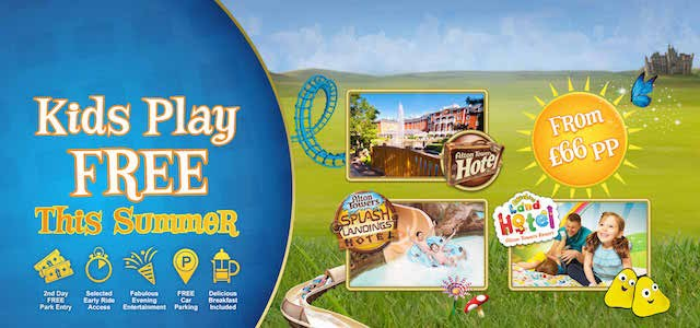 Kids Play for free at Alton Towers