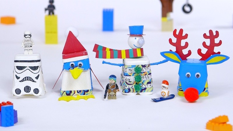 Be creative with LEGO Advent box