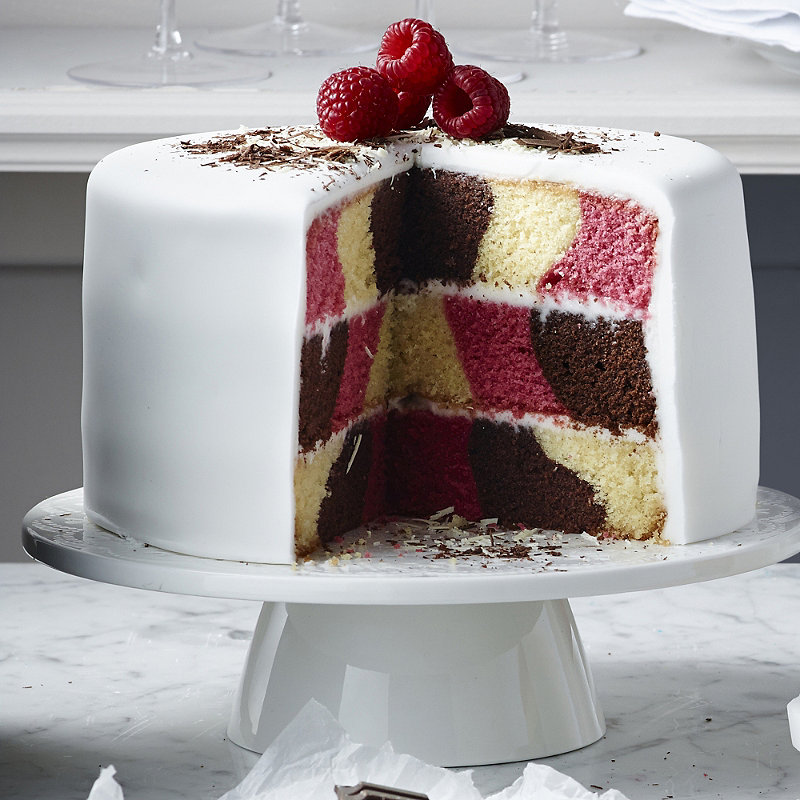 Lakeland checkerboard cake