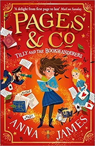 Pages & Co Tilly and the Bookwanderers be Anna James