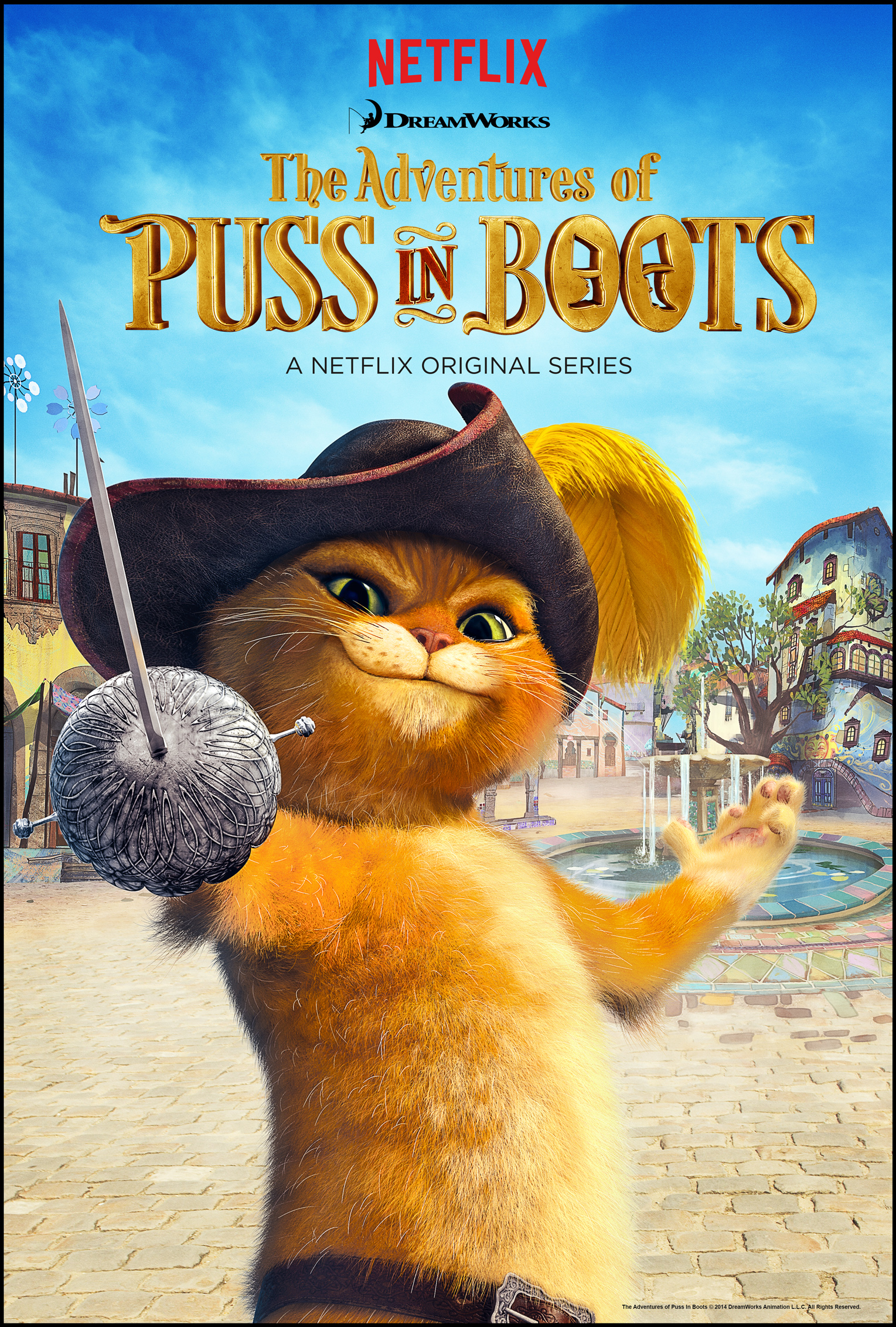 Netflix – The Adventures of Puss in Boots