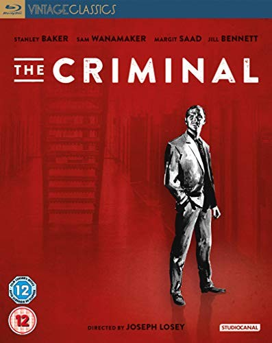 The Criminal on Blu-Ray and DVD